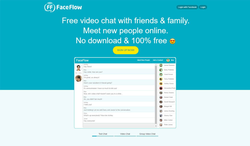 Faceflow review: Great dating site?