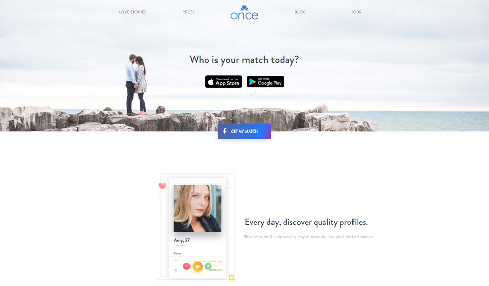 Once Review: A Top-Tier Dating Site?