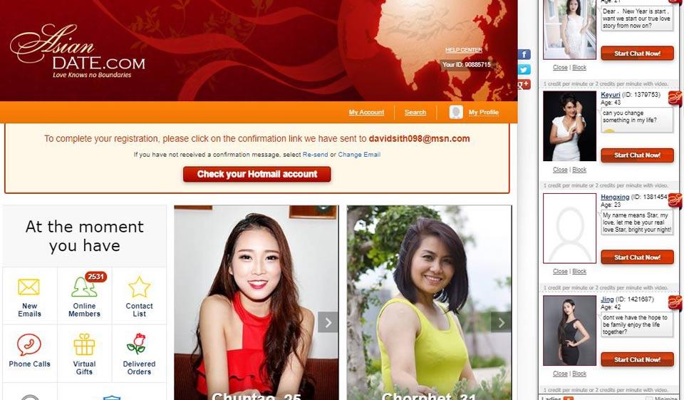 Nouveau site de rencontres d'asiatiques 100% gratuit