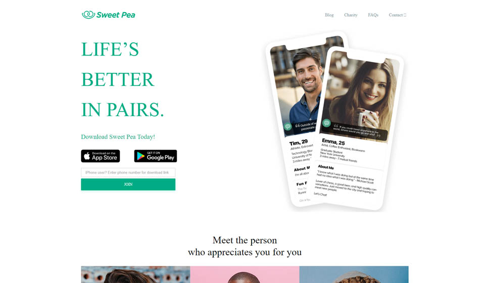 Sweet Pea Review: Great Dating Site?
