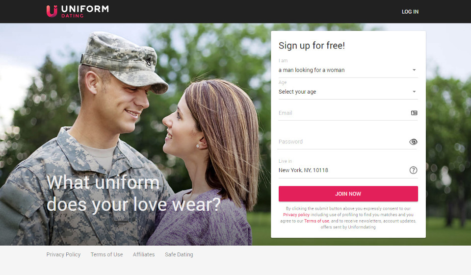 UniformDating Review: Great Dating Site?