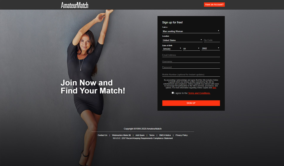 AmateurMatch Review: Is it a Great Dating Site?