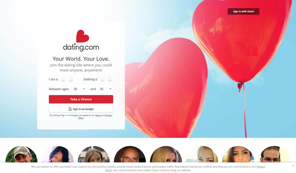 Revisión de Dating.Com: ¿Gran sitio de citas?
