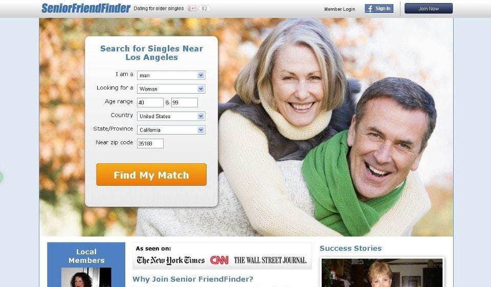 Senior Friend Finder Recensione 2021