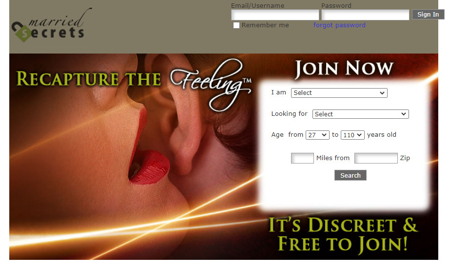 Married Secrets Review, A Great Dating Site?