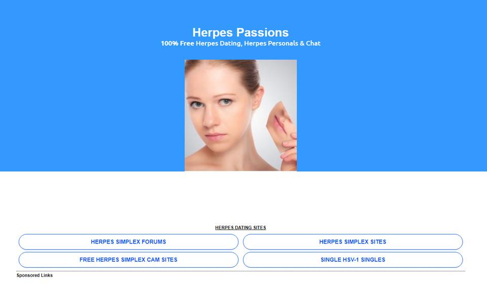 Site de rencontres pour personnes vivant avec l'herpès génital et autres ITS-IST